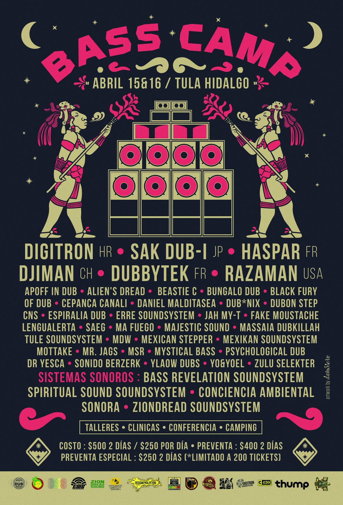 Bass Camp Festival MX