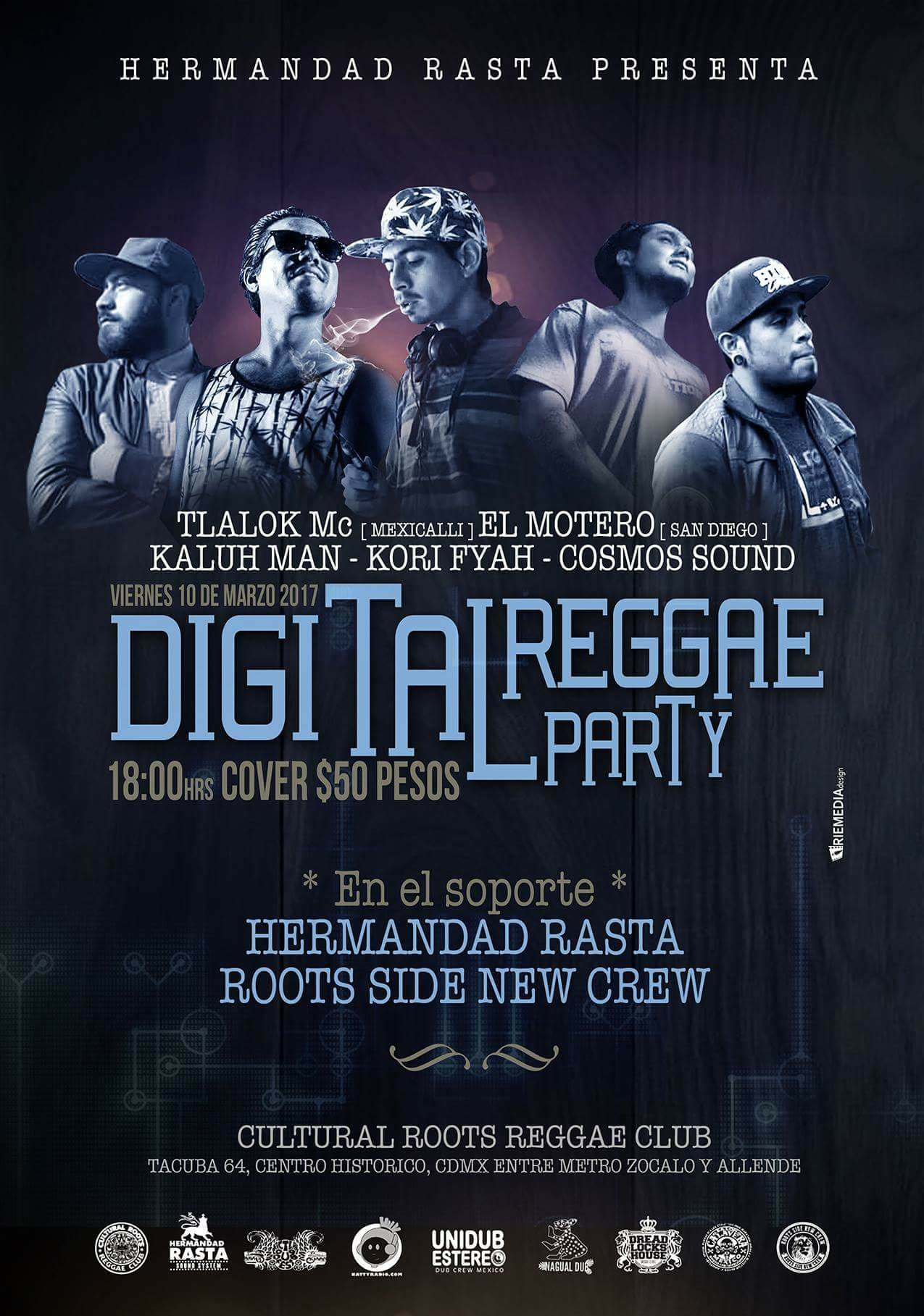digital reggae party
