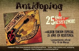 antidoping disco 25 años